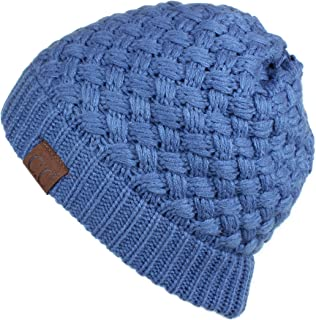 C.C Exclusives Unisex Soft Stretch Skull Beanie Hat (HAT-47)