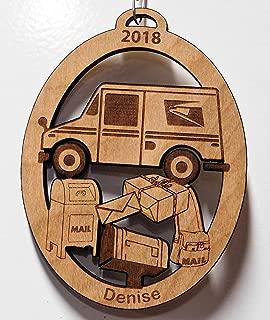Mailman, Mail Carrier, Mail Women, Mailman Gift, Mailman Christmas Tree Ornament, Mailman Ornament
