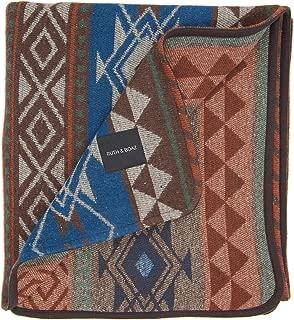 RUTH&BOAZ Outdoor Wool Blend Blanket Ethnic Inka Pattern(K)