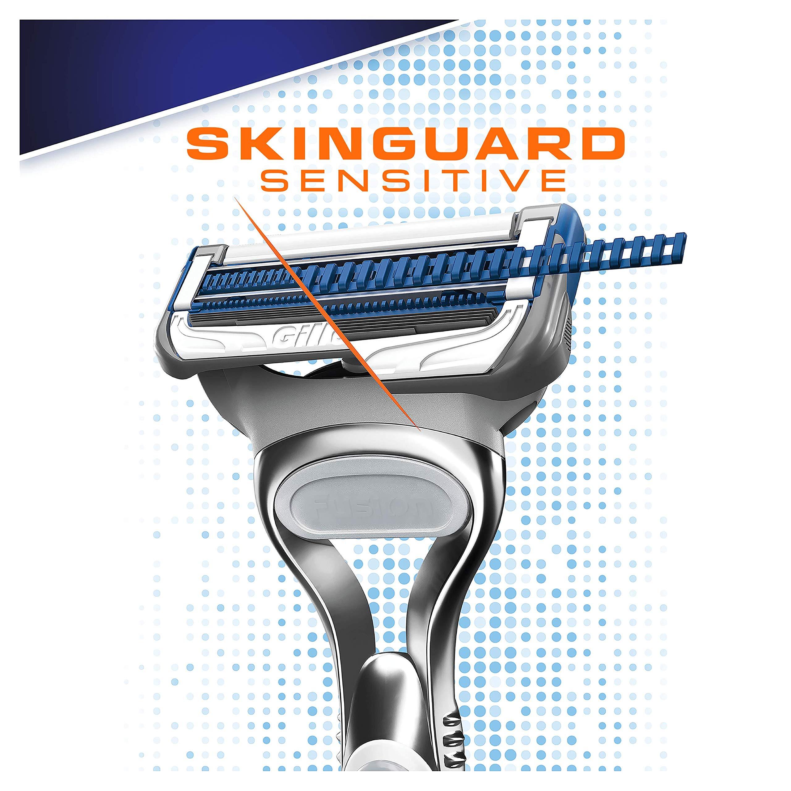 Gillette afeitadora de Hombre para Pieles sensibles + Cuchillas de ...