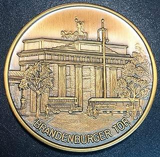 1987 Germany 750 Jahre Berlin Brandenburger Tor Medal 40mm - SCARCE