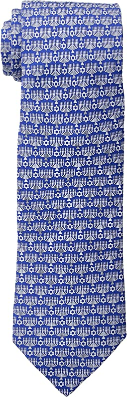 Vineyard Vines - Printed Tie - Menorah