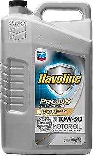 Havoline PRO DS Full Synthetic 10W30 Oil, 5 quart