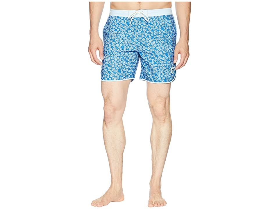 Original Penguin Daisy Dolphin Printe (Turkish Sea) Men