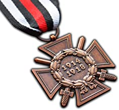 The Honour Cross of the World War 1914 - 1918 WW1 German Hindenburg Cross Repro