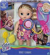 Baby Alive Muñeca mimos y cuidados, Multicolor, Miscelanea (Hasbro C0957105)