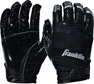 Franklin Sports Football Receiver Gloves - Adult and Youth Football Receiver Gloves - Extra-Grip Premium Football Gloves for All Ages