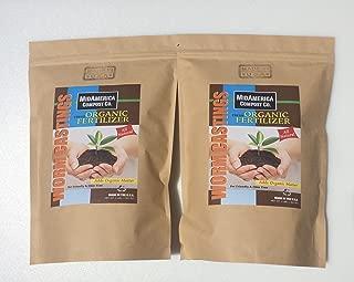 MidAmerica Compost Co. Worm Castings Organic Fertilizer 2+lbs