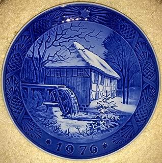 1976 Royal Copenhagen Christmas Plate - Vibaek Mill