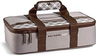 "Rachael Ray Lasagna Lugger, 16.5"" X 10.5"" X 4"", Sea Salt Plaid"