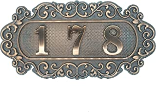 apartment room number signs