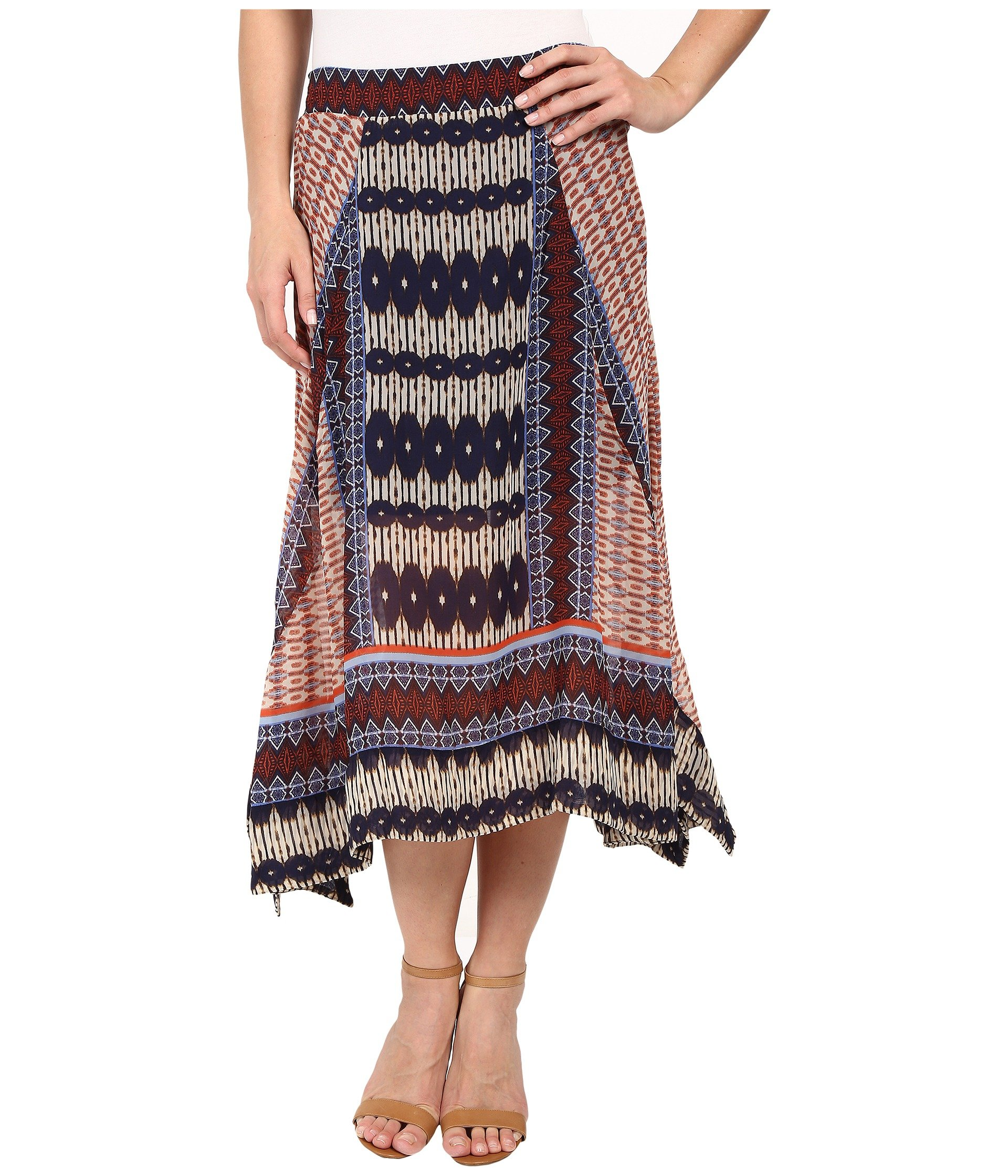 Falda para Mujer Dylan by True Grit Malta Boho Skirt  + Dylan by True Grit en VeoyCompro.net