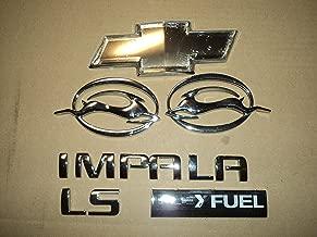 05-08 Chevrolet Impala Ls Flex Fuel Side Door Emblem Logo Tailgate Decal 22743583 Decorative Ornaments Scripts Full Set