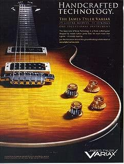 Print ad: 2010 James Tyler VARIAX Line 6 Guitar