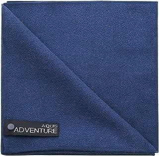 Aquis Adventure Sports Towel, Blueberry, Large