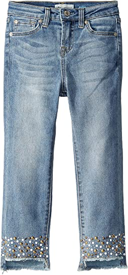 Luxe Vintage The Edie Stretch Denim Jeans in Vintage Flora (Big Kids)
