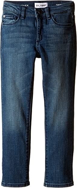 DL1961 Kids - Hawke Skinny Jeans in Scabbard (Toddler/Little Kids/Big Kids))