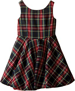 fiveloaves twofish - Little Party Tartan Dress (Toddler/Little Kids/Big Kids)