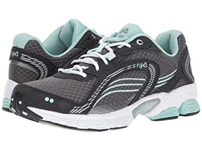 Ryka Ultimate (Forge Grey/Black/Mint Ice/Chrome Silver) Women