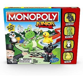 Monopoly Juego de Mesa Junior (en inglés): Amazon.es: Juguetes y ...