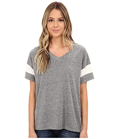 Alternative Powder Puff Tee (Eco Grey/Eco Ivory) Women