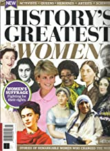 HISTORY'S GREATEST WOMEN MAGAZINE, STORIES OF REMARKABLE WOMEN WHO CHANGED THE WORLD ISSUE, 2018 ISSUE # 01 PLEASE NOTE : FRONT & BACK COVER PAGES CORNERS ARE ROUGH OR DAMAGED. INSIDE THE MAGAZINE PAGES ARE FRESH & CRISPY.FOR MORE DETAILS, PLEASE CHECK PICTURE. ( CONDITION LIKE NEW. ) ( SINGLE ISSUE MAGAZINE )