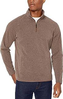 Quarter-Zip Polar Fleece Jacket Hombre