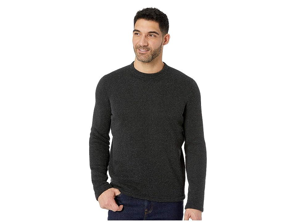 Smartwool Hudson Trail Fleece Crew Sweater (Dark Charcoal) Men