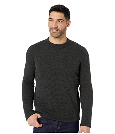 Smartwool Hudson Trail Fleece Crew Sweater (Dark Charcoal) Men