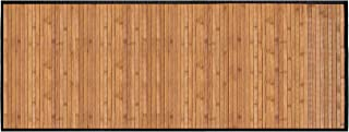 Natural Bamboo Floor Step Mat Runner by Ginsey