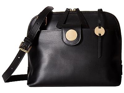 Lodis Accessories Rodeo RFID Izabella Crossbody (Black) Cross Body Handbags