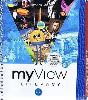 My View Literacy 3.3 Teacher's Edition (Unit 3 Answer Keys)
