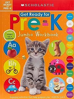 Get Ready for Pre-K Jumbo Workbook: Scholastic Early Learners (Jumbo Workbook)