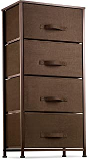 4 Drawer Dresser Organizer Tall Fabric Storage Tower for...