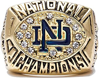GF-sports store Replica Championship Ring for 1988 Notre Dame Gift Fashion Gorgeous Collectible Jewelry