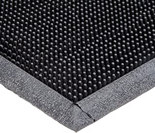 Durable Heavy Duty Rubber Fingertip Outdoor Entrance Mat, 36