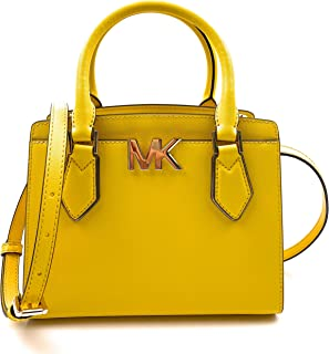 Michael Kors Women's Mott Signature Leather Crossbody Messenger Bag