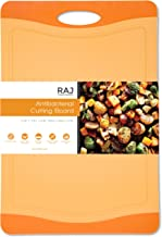 Raj Plastic Cutting Board Reversible Cutting board, Dishwasher Safe, Chopping Boards, Juice Groove, Large Handle, Non-Slip, BPA Free, FDA Approved (18