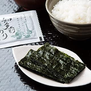 知多前 味付けのり 8切5枚入 10食セット チャック付袋 愛知県産