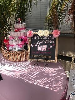 Snapchat Filter Instagram Wedding Baby Shower sign