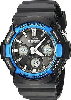 Men's G-Shock Quartz Watch with Resin Strap, Black, 29 (Model: GAW-100B-1A2CF)