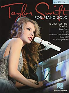Taylor Swift for Piano Solo