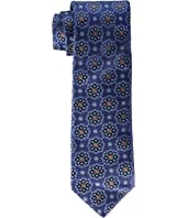 Canali - Woven Jacquard Floral Medallion Tie