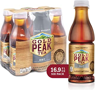 Gold Peak Tea, Diet, 16.9 Fluid Ounce (Pack of 6)