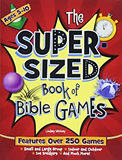 Super Sized Book of Bible Games: Features Over 250 Games