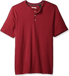 Authentics Men's Short Sleeve Henley Tee
