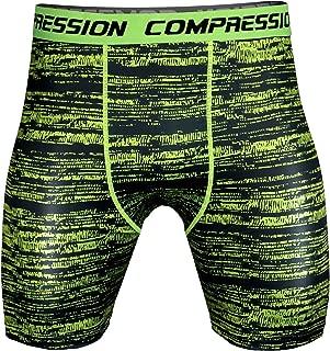 Mens Sports Compression Tight Shorts