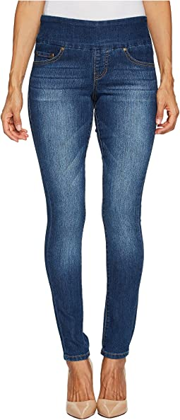 d36e720b5f464 Jag jeans petite petite ryan skinny freedom colored knit denim in ...