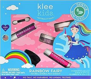 Luna Star Naturals Klee Kids Natural Mineral Makeup 4 Piece Kit (Rainbow Fairy)