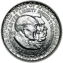1952 Washington-Carver Half Dollar BU Half Dollar Brilliant Uncirculated